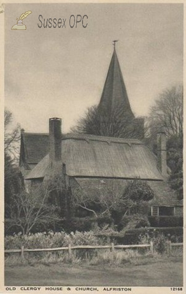 Alfriston - St Andrew's Church & Clergy House