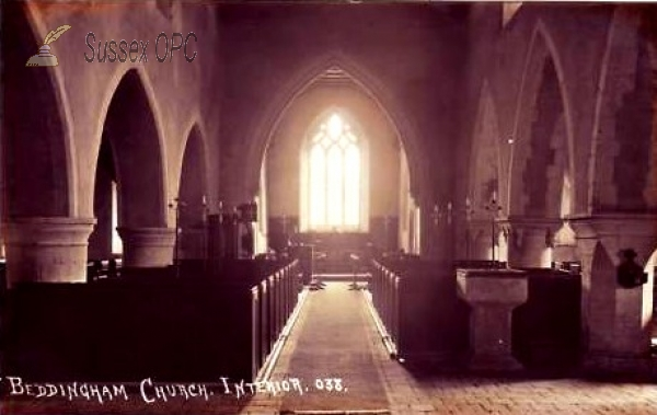 Image of Beddingham - St Andrew's Church (Interior)