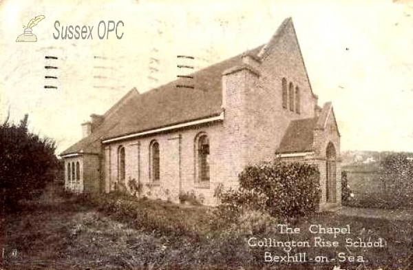 Bexhill - Collington Rise School Chapel