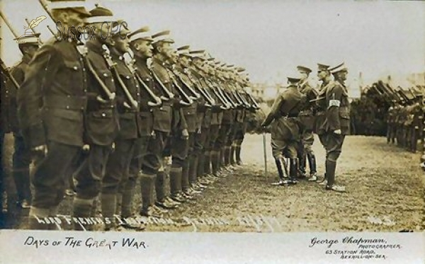 Bexhill - Lord French's Inspection, 27th August 1917