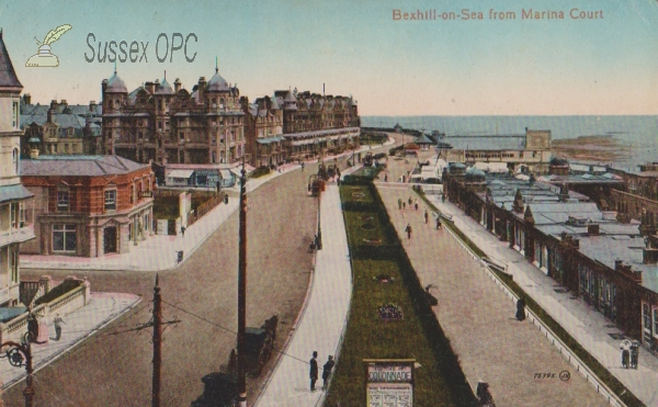 Bexhill - From Marina Court