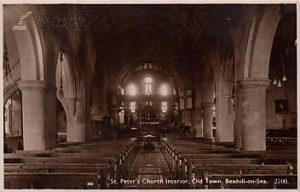 Image of Bexhill - St Peter's Church (Interior)