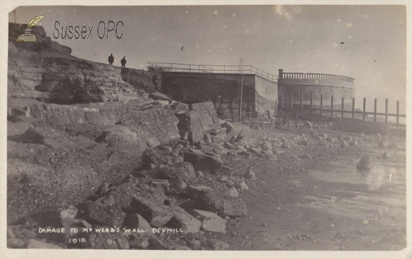 Bexhill - Damage to Sea Wall