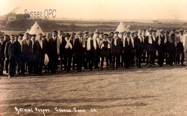 Image of Cooden - Cooden Camp - Bathing Parade