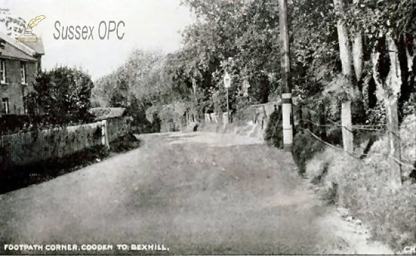 Image of Cooden - Footpath Corner