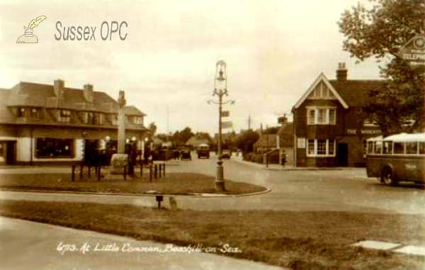 Image of Little Common - War Memorial and Shops