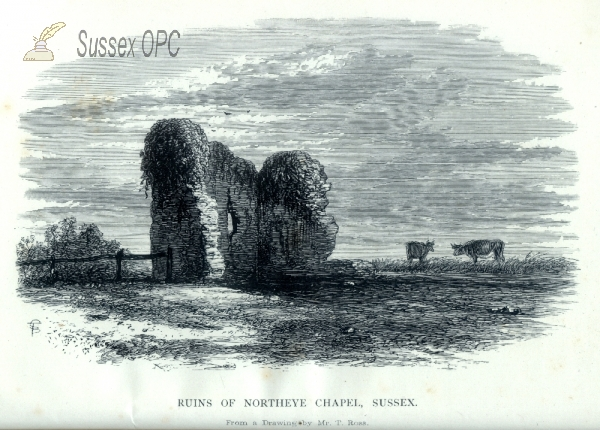 Northeye (Bexhill) - Ruins of St James Chapel