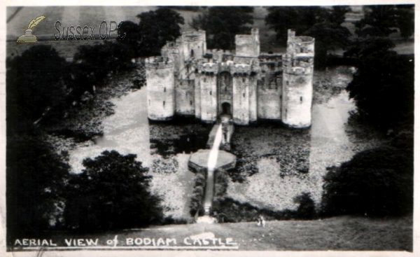 Bodiam - The Castle (Aerial View)