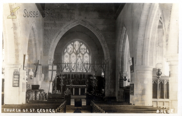 Brede - St George's Church - Interior