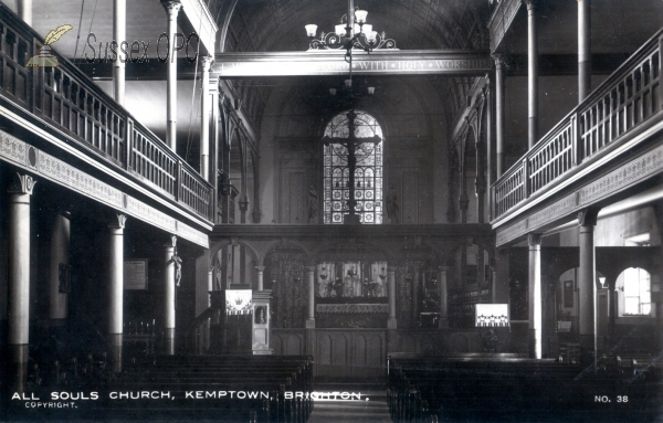 Kemptown - All Souls Church (Interior)