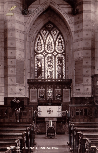 Image of Brighton - Christ Church (Interior - Sanctuary)