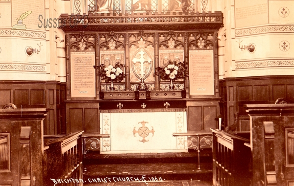 Image of Brighton - Christ Church (Interior - Altar)