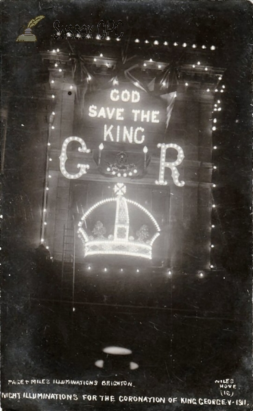 Brighton - Coronation Illuminations, Page & Miles