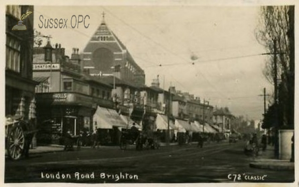 Image of Brighton - St Bartholomew's Church & London Road
