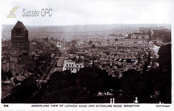 Brighton - London Road & Ditchling Road