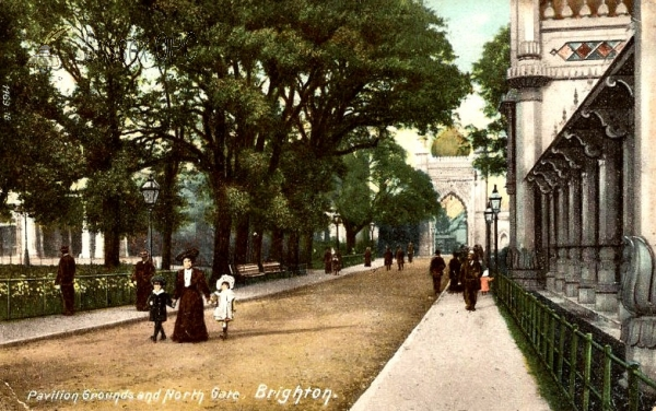 Brighton - The Pavilion Grounds and North Gate