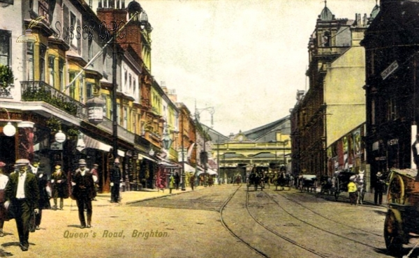 Brighton - Queen's Road and the Railway Terminus