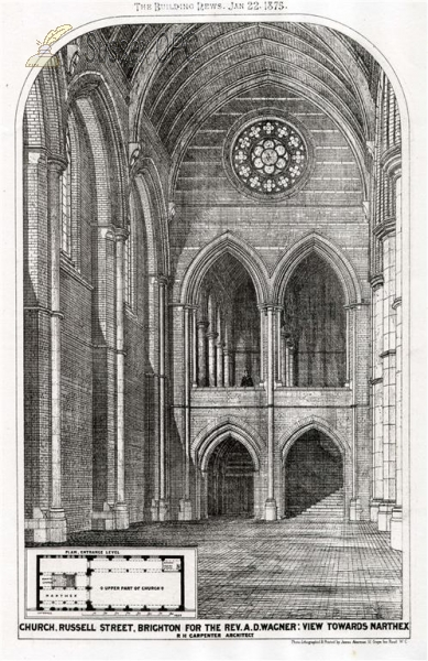 Image of Brighton - Holy Resurrection Church - Architect's Plan