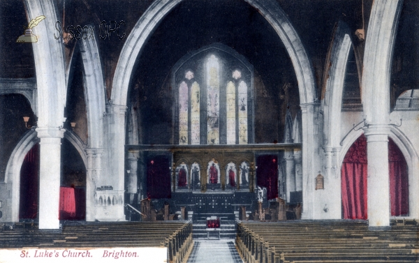 Brighton - St Luke's Church (Interior)