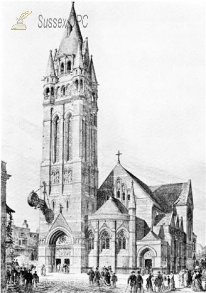 Image of Kemptown - St Mary the Virgin Church as designed