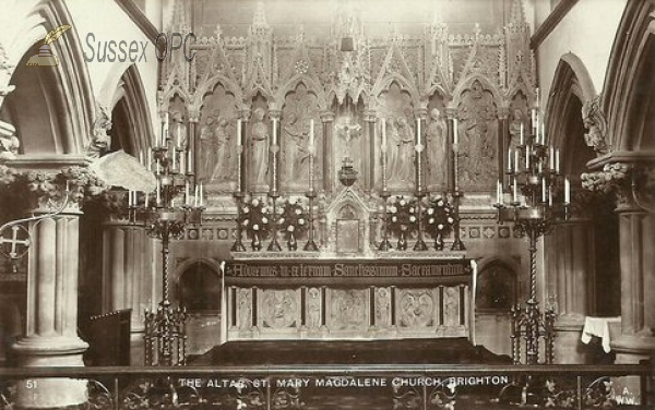 Image of Brighton - St Mary Magdalene (Altar)