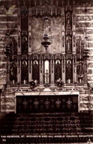 Image of Brighton - St Michael's Church (reredos)