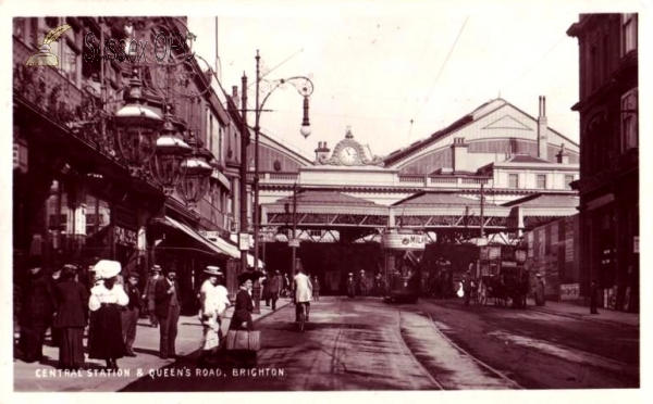 Brighton - Central Station & Queen's Road