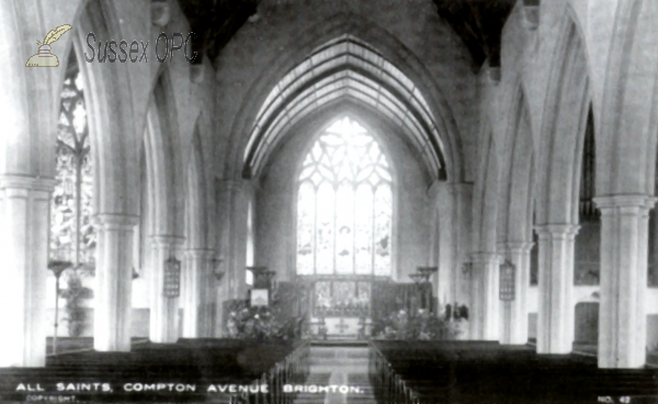 Image of Brighton - All Saints Church - Interior