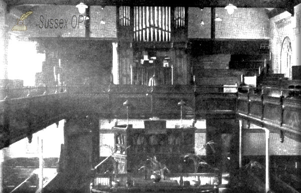 Brighton - London Road Congregational Church (Interior)
