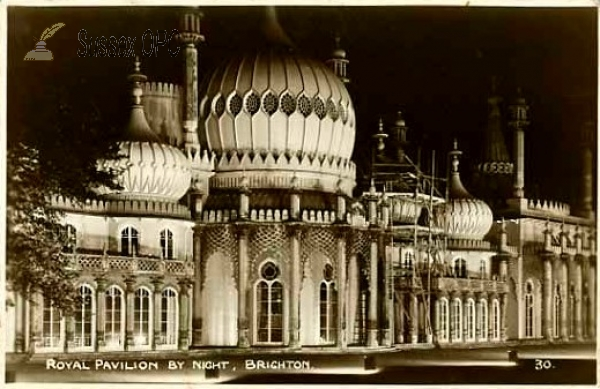 Brighton - The Royal Pavilion by night