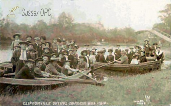 Burgess Hill - Cliftonville Outing 1912