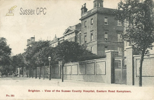 Kemptown - Royal Sussex County Hospital