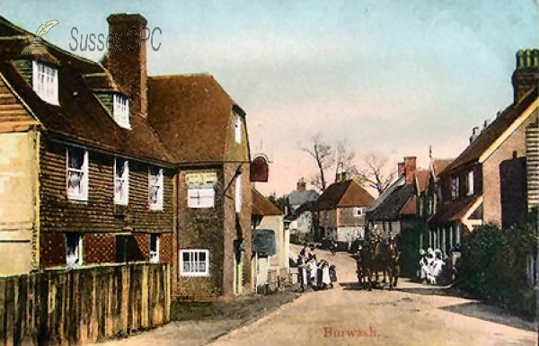 Burwash - The White Hart