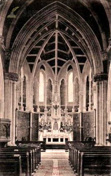 Burwash - St Joseph's Catholic Church (Interior)