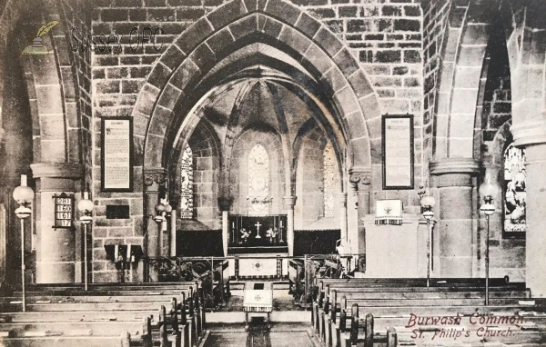 Image of Burwash Weald - St Philip (Interior)