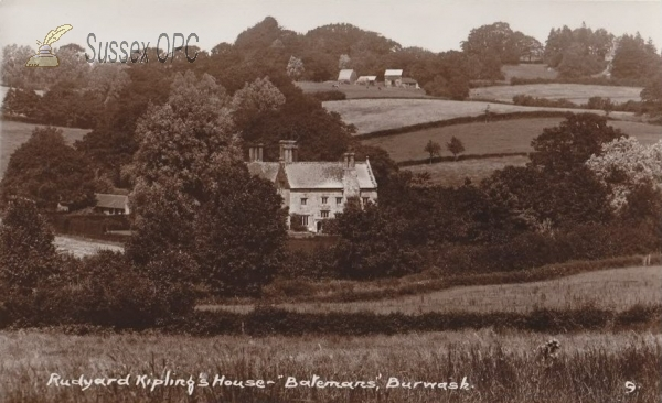 Image of Burwash - Batemans, Rudyard Kipling's House