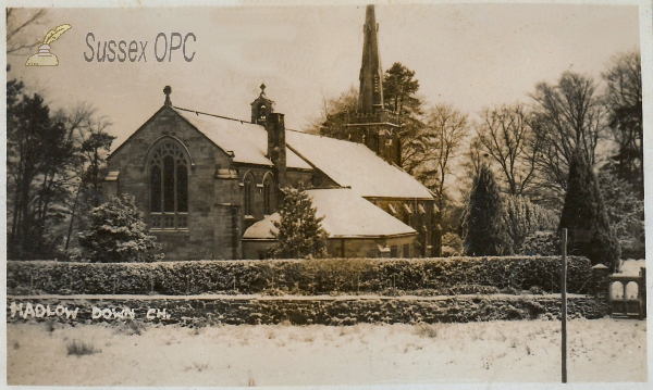 Image of Hadlow Down - St Mark (Snow)