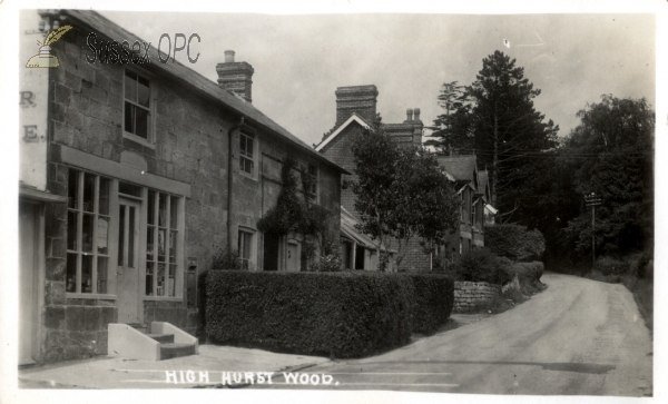 Image of High Hurstwood - The shop and houses