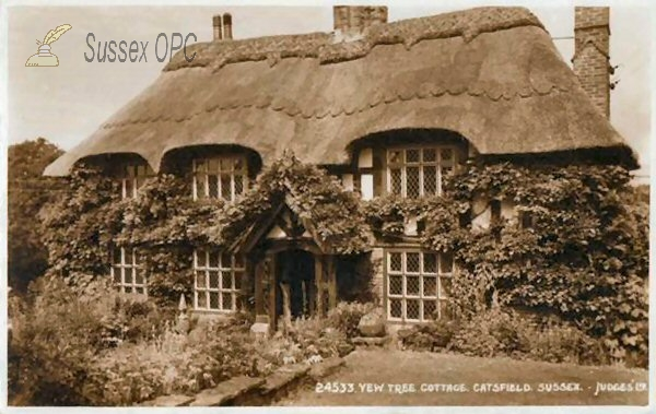 Catsfield - Yew Tree Cottage
