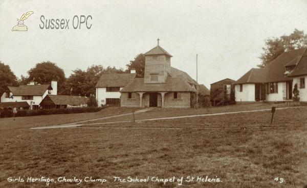 Chailey - Girls Heritage, Chailey Clump (School Chapel)