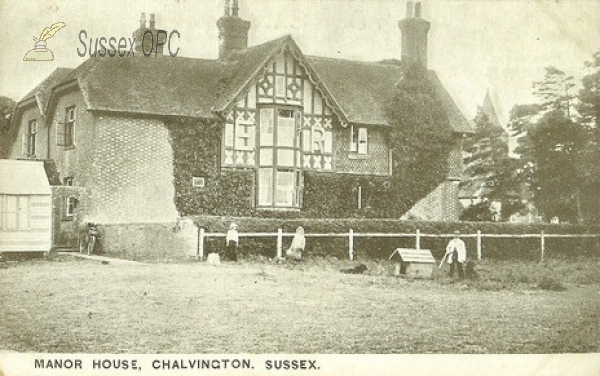 Image of Chalvington - Manor House