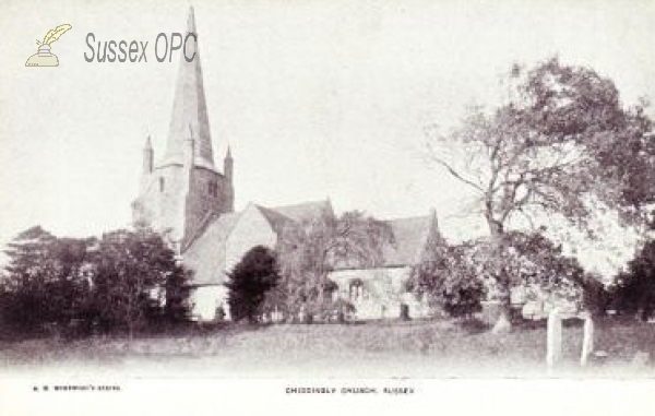 Image of Chiddingly - Church