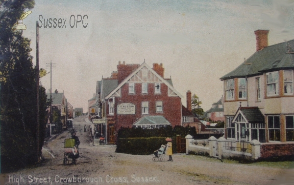 Crowborough - High Street (Crowborough Cross)