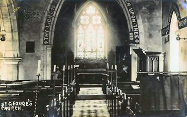 Image of Crowhurst - St George's Church (Interior)