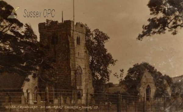 Image of Crowhurst - St George's Church (West End)