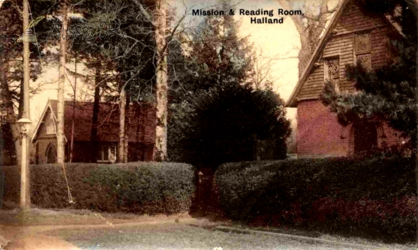 East Hoathly - Halland - Mission & Reading Room