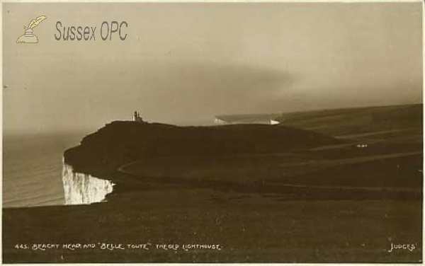 Image of Eastbourne - Beachy Head & Belle Toute Lighthouse