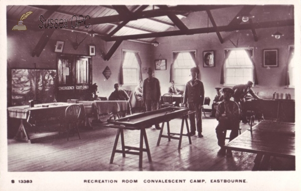 Eastbourne - Convalescent Camp (Recreation Room)