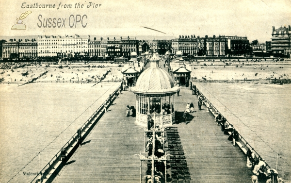 Eastbourne - View from the pier