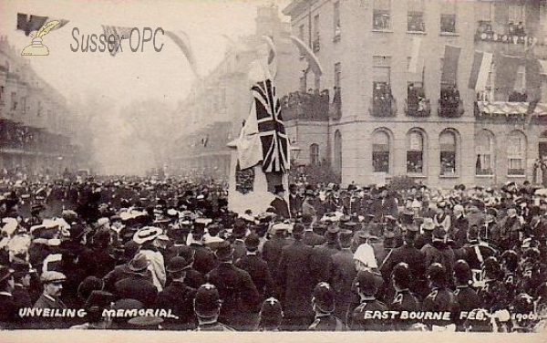 Eastbourne - Unveiling New Memorial, 7th February 1906